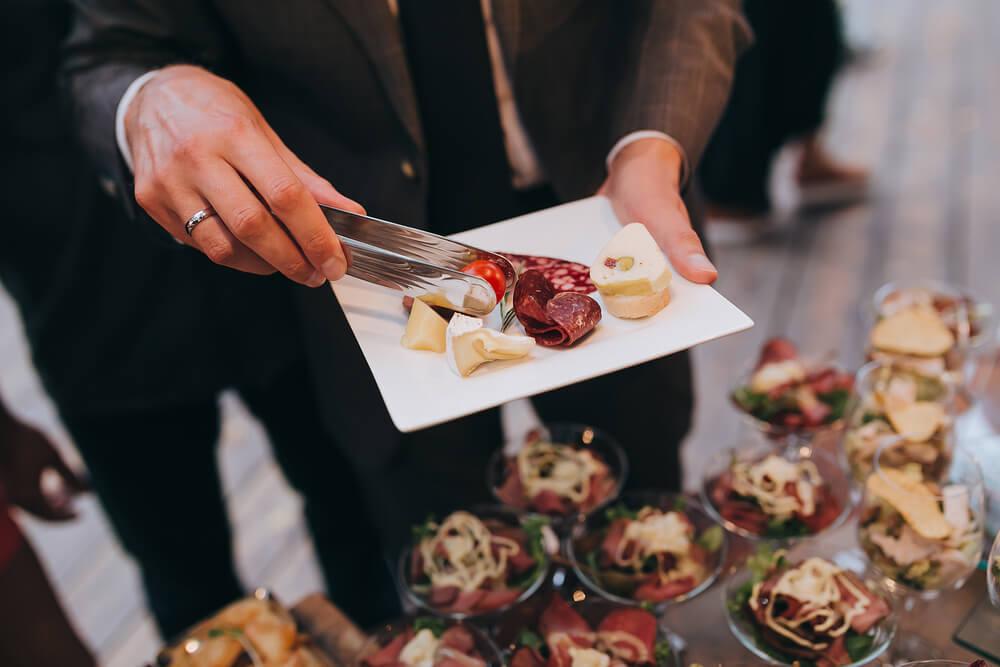 Buffet de casamento: 5 dicas para acertar na sua escolha